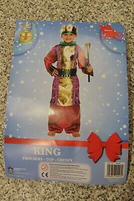 £5.95 • Buy School Nativity Play King/Wise Man Fancy Dress/Costume/Outfit (4-6 Years) USED