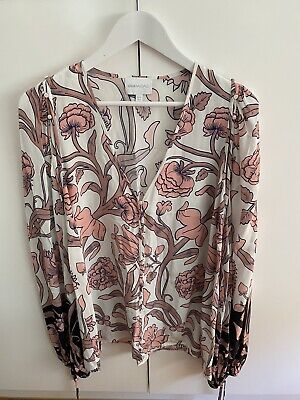 AU32.50 • Buy Alice Mccall Size 10 Long Sleeve Floral Top Excellent Condition