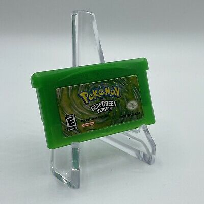 $89.99 • Buy Pokemon Leaf Green Version Game Boy Advance GBA Authentic Tested Saves Rare