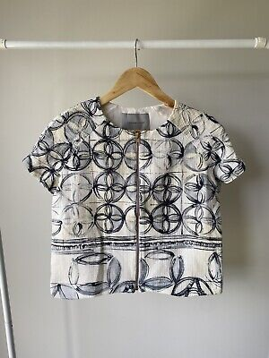 AU30 • Buy Scanlan Theodore Size 8 Floral Blouse