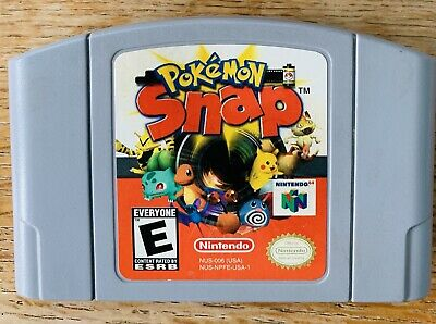 $29.95 • Buy Pokemon Snap Nintendo 64 N64 Authentic Tested & Working Fast Shipping