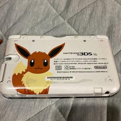 $250 • Buy Nintendo 3DS XL Pokemon Eevee Eievui Edition Used Japanese Console 3ds Ll Japan