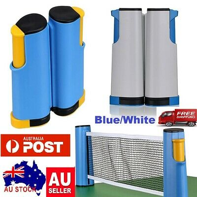 AU21.99 • Buy NEW Retractable Table Tennis Ping Pong Net Replacement Net Rack Sports Training