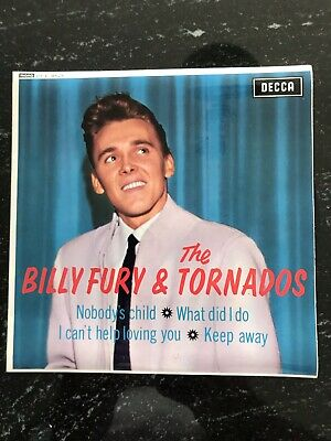 £12 • Buy Billy Fury & The Tornados  - Ep Decca Records - 1963