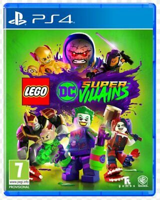 AU34.95 • Buy Lego - Dc Super Villains -  Sony Ps4, Sony Ps5   (excellent Condition, Unsealed)