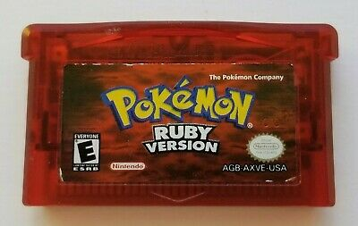 $59.99 • Buy Pokemon Ruby GAMEBOY ADVANCE Authentic Cartridge GBA TESTED (Needs New Battery)