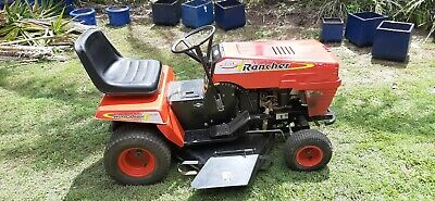 AU490 • Buy Rover Rancher Auto Drive Ride-on Mower 18hp Model 28155