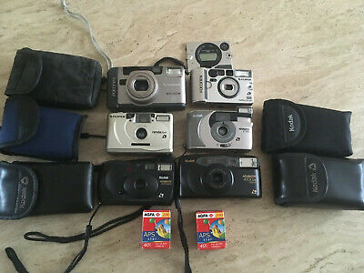 £9.99 • Buy Job Lot X6 APS  Film Camera With Two 40s Expired Films Bundle