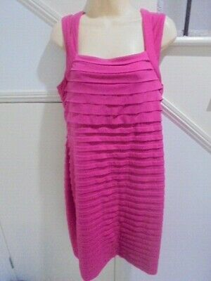 AU16.99 • Buy ROCKMANS SIZE 14 Pink Bodycon SPECIAL OCCASION PARTY DRESS 'PERFECT'