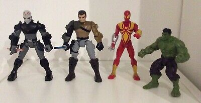 £2 • Buy Collection Of Retro Style Action Figures