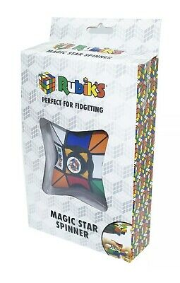 £7.99 • Buy Rubiks Magic Star Spinner Cube Puzzle Fidget Spin Rubiks Puzzle ***new Sealed***