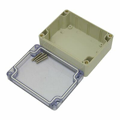 £5.56 • Buy Sealed ABS Plastic Enclosure Electrical Project Box Case IP65 115x90x56.5mm