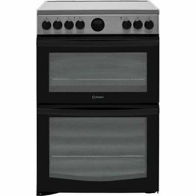 £426 • Buy Indesit ID67V9HCX/UK Free Standing A/A Electric Cooker With Ceramic Hob 60cm