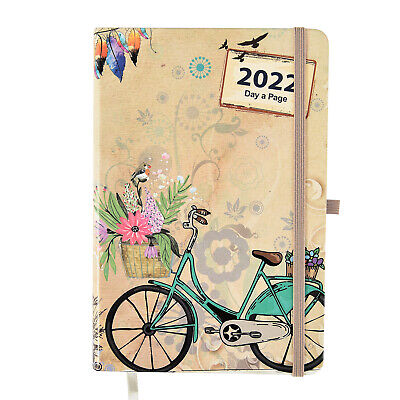 £10.49 • Buy Diary 2022 Day A Page A5 Personal Organizer Diary Soft Padded Cover With Full Pa