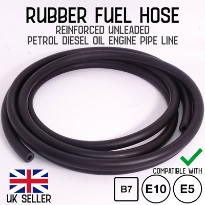 £3.96 • Buy Nitrile Rubber Smooth Fuel Tube Petrol Diesel Oil Line Hose Pipe Tubing Breather