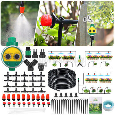 £9.88 • Buy  Automatic DIY Drip Irrigation System Plant Self Watering Garden Hose Kit HOT