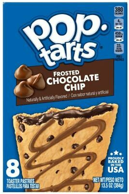 £5.99 • Buy Pop Tarts Frosted Chocolate Chip 13.5Oz - Box Of 1, 2, 6, 12 - USA Import