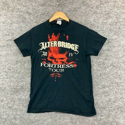 £10.87 • Buy Alter Bridge Fortress Tour 2014 T-Shirt Womens Size S Small Short Sleeve 247.03