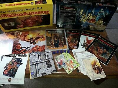 £199.99 • Buy Advanced Dungeons & Dragons Ad&d Complete Starter Set 1995 Tsr #1167 - Rare