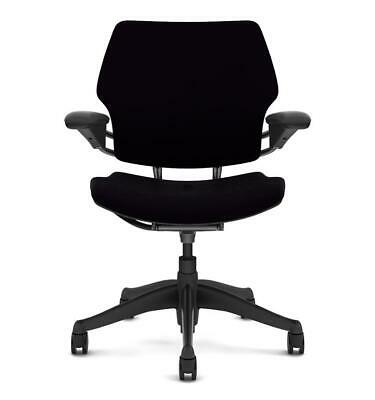 £299 • Buy Humanscale Freedom Task Chair In  Black Leather