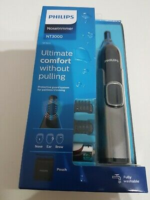 AU27.57 • Buy Philips Nose Hair Trimmer Series 3000 Nose Ear And Eyebrow Trimmer NT3650/16 NEW