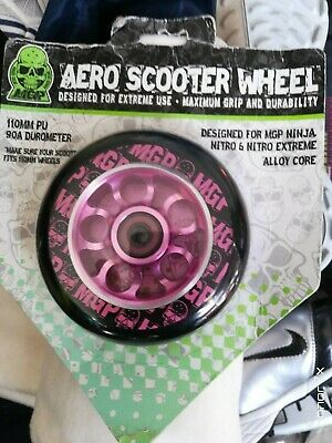 £7 • Buy Mgp Scooter Wheels Aero In Pink At £7 Each 100mm 90a