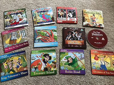 £8.99 • Buy Daily Mail Children's Animated Classics And Fairytale 6 DVDs Bundle + X5 Bonus