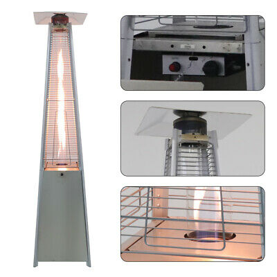 £199.99 • Buy Stainless Steel Outdoor Gas Pyramid Patio Heater