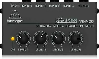 £48.21 • Buy Behringer MICROMIX MX400 4-Channel Mixer 100V New From Japan F/S