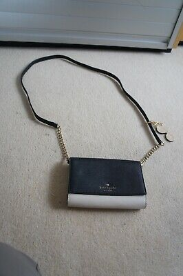 AU101.17 • Buy Kate Spade Crossbody Bag - Excellent Condition With Michael Kors Sunglass Charm