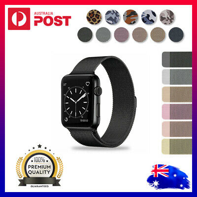 AU8.95 • Buy For Apple Watch IWatch Band Series 6 5 4 3 2 1 SE Magnetic Stainless Steel Strap