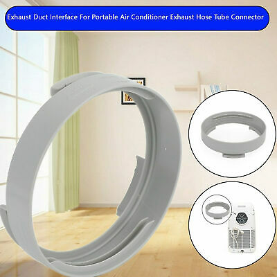 AU16.99 • Buy Exhaust Duct Interface For Portable Air Conditioner Exhaust Hose Tube Connector