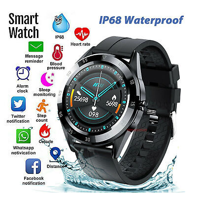 AU31.22 • Buy Bluetooth Smart Watch Phone Mate Heart Rate Tracker For IOS Android