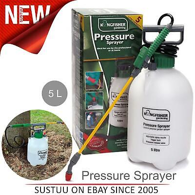 £17.40 • Buy Kingfisher 5L Garden Pressure Sprayer│For Plants Flowers Weed Insect Pest Spray