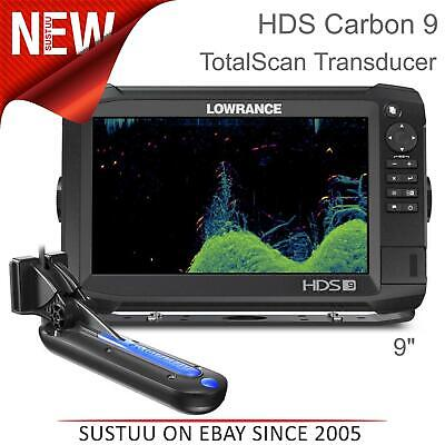 £1678.16 • Buy Lowrance HDS 9 Carbon Marine Fishfinder / Chartplotter With TotalScan Transducer