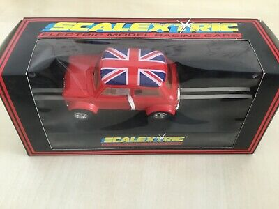 £14.99 • Buy Scalextric C398 Mini Cooper Red Union Jack Used Excellent Boxed