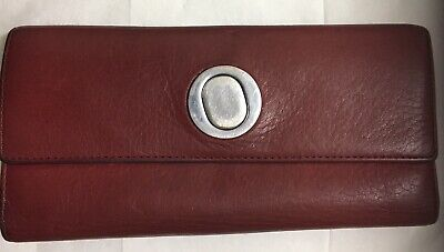 AU15 • Buy Oroton Red Leather Wallet