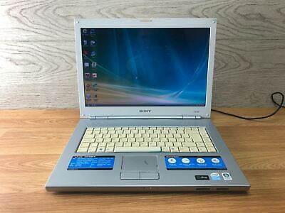 £65.99 • Buy Sony VAIO PCG-7Y1M Laptop White/Silver Tested And Working