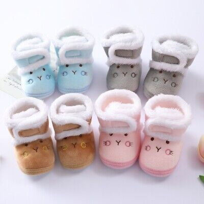£6.25 • Buy Infant Baby Girl Boys Toddler Slippers Socks Shoes Boots Winter Warm
