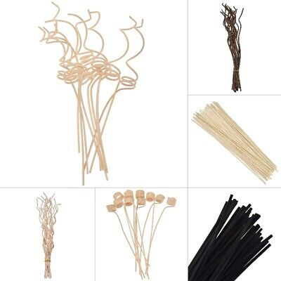 AU2.69 • Buy Rattan Reed Diffuser Sticks Fragrance Replacement Aroma Refill Floral Home Decor