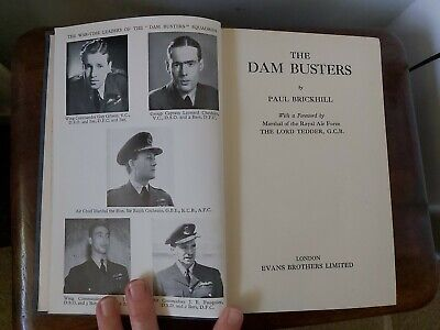 £1.50 • Buy The Dam Busters By Paul  Brickhill. Illustrated  Vintage  Hardback 1952.