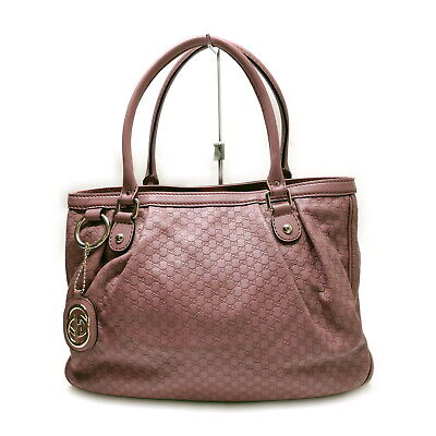 AU205.40 • Buy Gucci Tote Bag  Pinks Leather 1537058