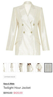 AU127.50 • Buy Sass And Bide Jacket NEW WITH TAGS 44-14 RRP$590