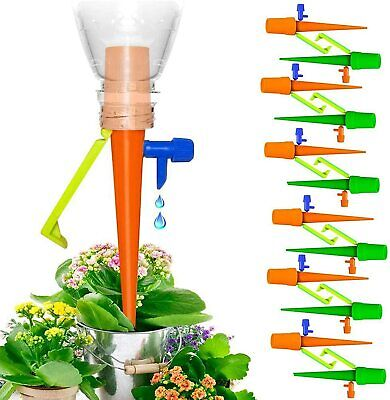 £3.99 • Buy 12PCS Automatic Irrigation Device Drip Flower Plant Sprinkler Watering Spike SET