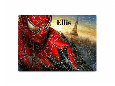 £6.99 • Buy Spiderman 80 Pieces A5 Jigsaw Puzzle - Lockdown Kids Game -   Personalised