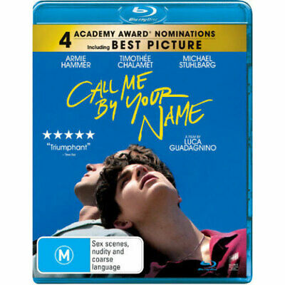 AU24.89 • Buy Call Me By Your Name (Blu-ray) NEW
