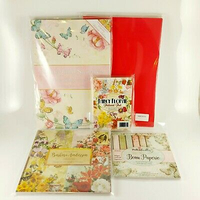 £25 • Buy New - Craft Cardmaking Paper Bundle, Hunkydory, Joanna Sheen, & More, A4, 6x6