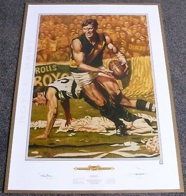 AU99.99 • Buy Royce Hart  Jamie Cooper  Richmond Tigers  Hand Signed Limited Edition