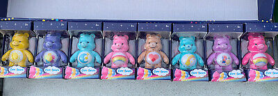 £22.99 • Buy Care Bear Mini Flocked Collectible Figures 7cm Full Collection Of 8 Bears