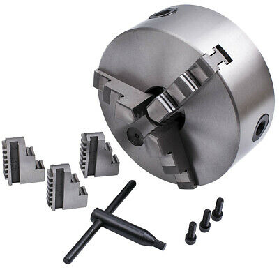 £60 • Buy 6 Inches  3 Jaw Self Centering Lathe Chuck Milling Grinding K11-160 3600 R/min
